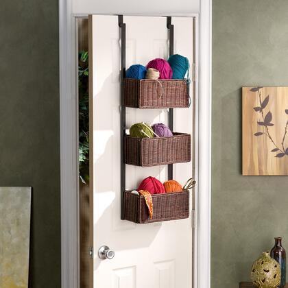 Holly & Martin HZX233 Over-The-Door 3-Tier Basket Storage