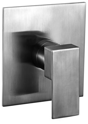 Alfi AB6701-XX Modern Square Pressure Balanced Shower Mixer with Brass, Square Shaped Lever Handle, Sleek Modern Design, User-Friendly Installation and UPC Certification in