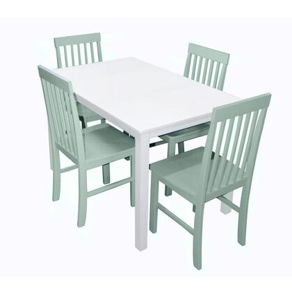 Walker Edison TW485PC Greyson 5-Piece Dining Set