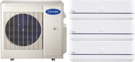 Carrier 700917 Performance Triple-Zone Mini Split Air Condit
