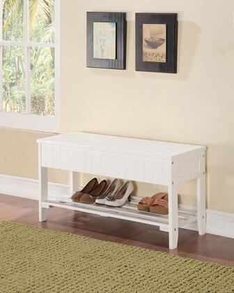 Acme Furniture 98166 Xio Series Accent Armless Wood Not Upholstered Bench