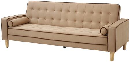 Glory Furniture G844S  Convertible Suede Sofa