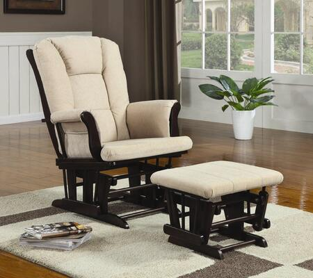 Coaster 650011 Casual Wood Frame  Recliners