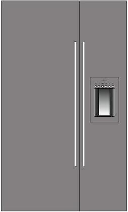 Thermador 277063 Freedom Side-By-Side Refrigerators