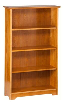 Atlantic Furniture C69307 Windsor Series Wood 4-5 Shelves Bookcase
