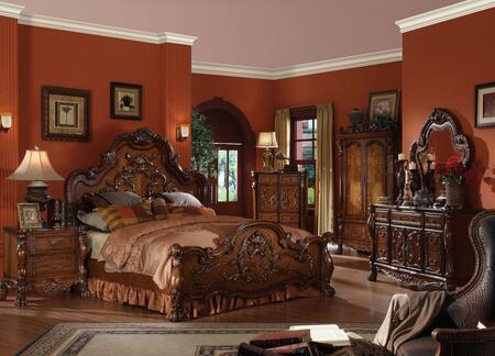 Acme Furniture 12137EKDMN Dresden King Bedroom Sets