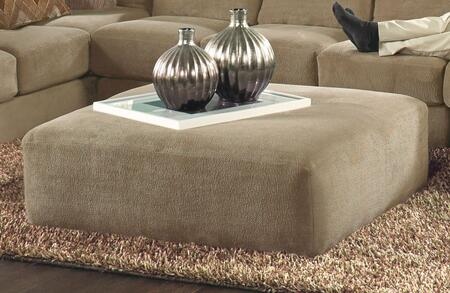 """Jackson Furniture Malibu Collection 3239-28- 52"""" Cocktail Ottoman with Chenille Fabric Upholstery and Piped Stitching in"""