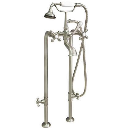 Cambridge CAM398463 Clawfoot Tub Freestanding British Telephone Faucet & Hand Held Shower Combo