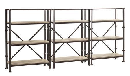 Turnkey Products LBDURKBS44X3 Durham Bookcases