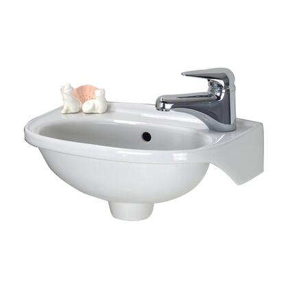 Barclay 4551WH White Sink