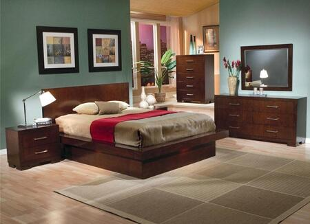 Coaster 200711KWSET Jessica California King Bedroom Sets