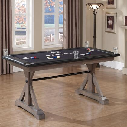 American Heritage 100727 Bandit Series Poker Table with American Oak Construction, Felt-Lined Top, Padded Arm Rests and Drink Holders: