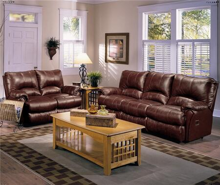 Lane Furniture 2042227542727 Alpine Series Leather Reclining with Wood Frame Loveseat
