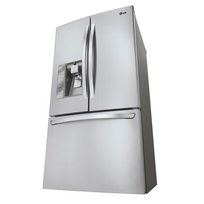 Lg Lfx31925st French Door Refrigerator With 30 7 Cu Ft