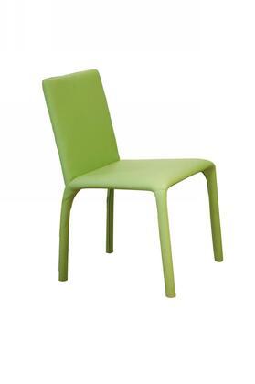 VIG Furniture VGGUHY142CHGRN Modern Leather Dining Room Chair