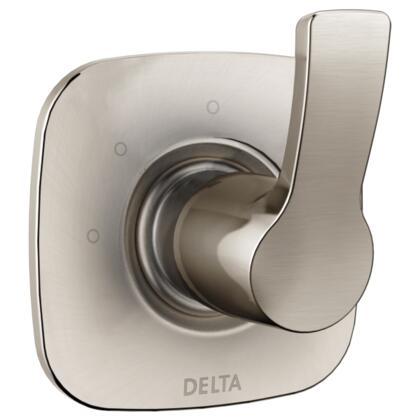 Tesla T11852-SS Delta Tesla: 3-Setting 2-Port Diverter Trim in Stainless