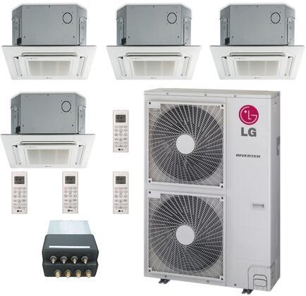 LG 705598 Quad-Zone Mini Split Air Conditioners