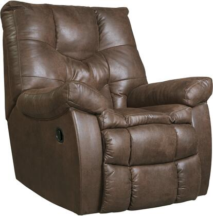 Benchcraft 9220125 Burgett Series Contemporary Fabric Metal Frame Rocking Recliners