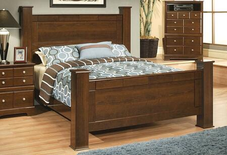 Sandberg 338A Kendra Series  Queen Size Poster Bed