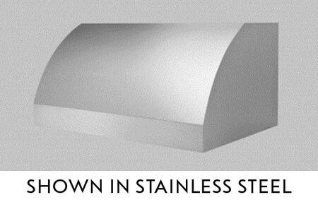 """BlueStar Santa Fe BSSNFE482418 48"""" Wall Mount Range Hood with 3 Speed Fan, Stainless Steel Baffle Filters and Halogen Lamps, in"""