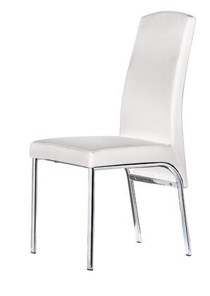 VIG Furniture VGLEY052 Modern Leather Metal Frame Dining Room Chair