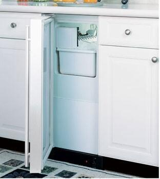 Marvel 25IMWWOL  Built In Ice Maker with 12 lb. Daily Ice Production, 15 lb. Ice Storage, in Panel Ready