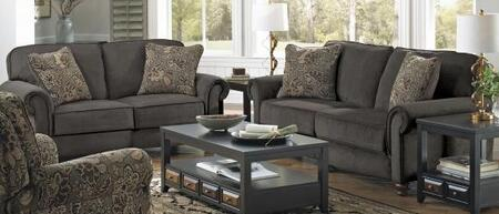 Jackson Furniture 43842PCSTLKIT1CHAR Downing Living Room Set
