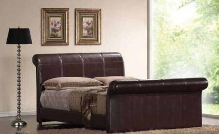 Yuan Tai MN4012Q Montgomery Series  Queen Size Sleigh Bed