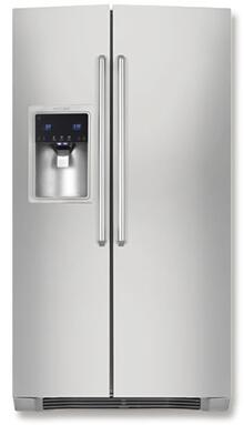 Electrolux EW26SS70IS  Side by Side Refrigerator with 25.93 cu. ft. Capacity in Stainless Steel