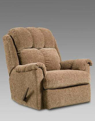 Chelsea Home Furniture 2100TBR Verona IV Series Transitional Fabric Wood Frame Rocking Recliners