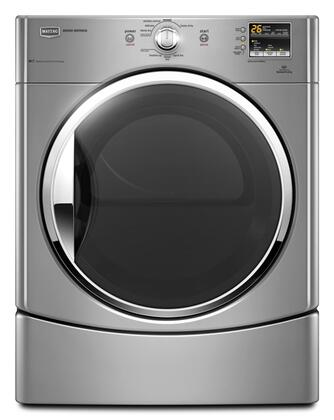 Maytag MEDE251YL Performance Series Electric Dryer, in Silver