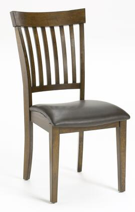 Hillsdale Furniture 4232802 Arbor Hill Series Contemporary Bonded Leather Wood Frame Dining Room Chair
