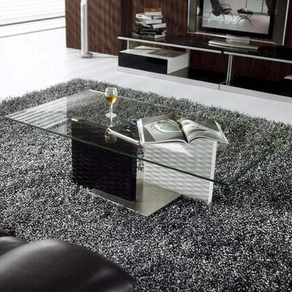 VIG Furniture VGBNCJM096 Glass Modern Table
