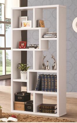 Coaster 800136 Bookcases Series Wood 8 Shelves Bookcase
