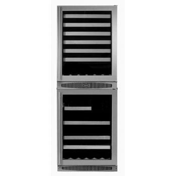 "Marvel 66SWBEBDR 24.13"" Freestanding Wine Cooler"