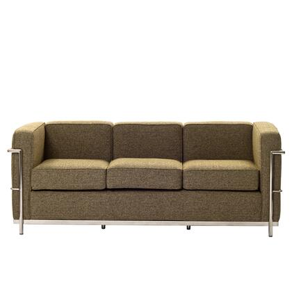 Modway EEI698OAT Charles Series Stationary Fabric Sofa