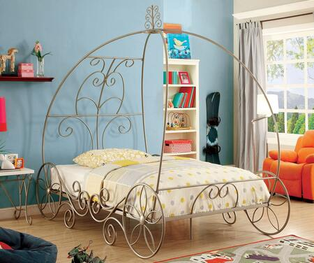 Furniture of America CM7705CPNF Enchant Series  Full Size Bed