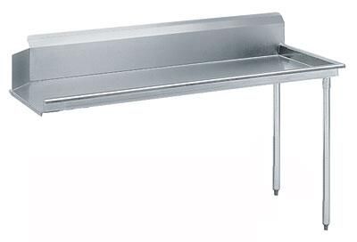 "Advance Tabco DTC-S70-60 59"" Standard Clean Straight Dishtable"