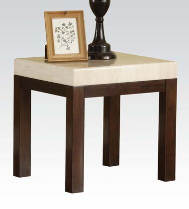Acme Furniture 17416 Kyle Series Contemporary Wood Square End Table