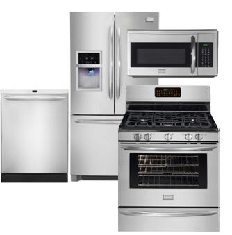 Frigidaire FRIGIDAIREKITCHENKIT17 Gallery French Door Refrig