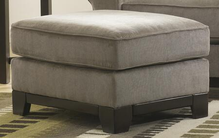 Signature Design by Ashley 3210014 Riley Series Contemporary Fabric Wood Frame Ottoman