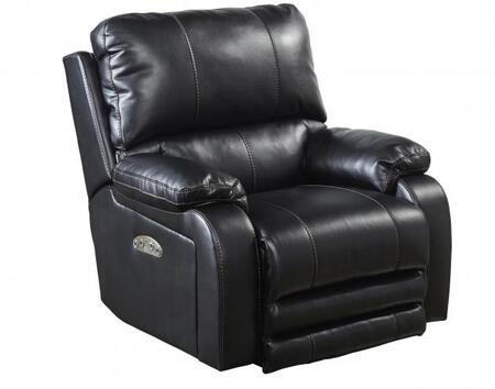 Catnapper 7647627115208125208 Thornton Series Contemporary Faux Leather Metal Frame  Recliners
