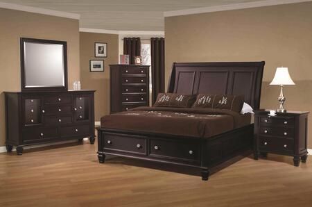 Coaster 201990KWSET Sandy Beach California King Bedroom Sets