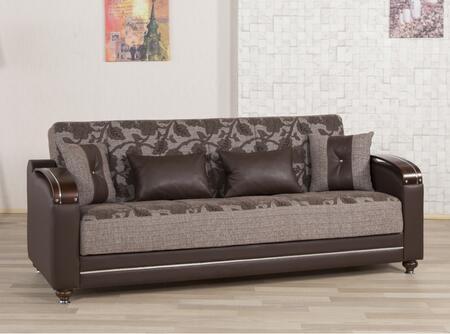 01 casamode  sofabed DIVAMAX brownflower 01