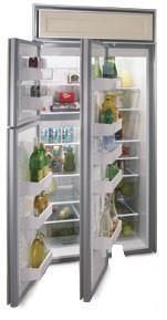 Northland 363DSBL  Counter Depth Side by Side Refrigerator with 22.8 cu. ft. Capacity in Black