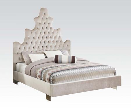 Acme Furniture 25027EK Honesty Series  King Size Panel Bed
