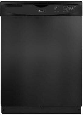 """Amana ADB1400PYB 24"""" 1400 Series Built In Full Console Dishwasher with 12 Place Settings Place Settingin Black"""