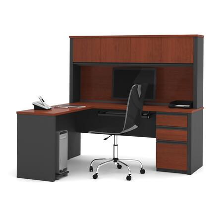 Bestar Furniture 99872 Prestige + L-shaped workstation
