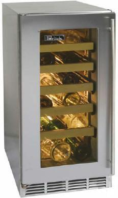 "Perlick HP15WS3LDNU 14.875"" Freestanding Wine Cooler"