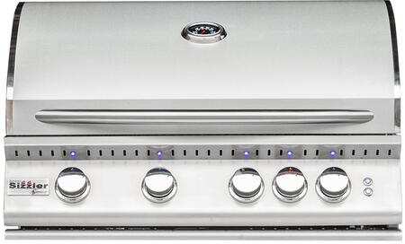 "Summerset Grills SIZ32NG 32"" Built-In Grill, in Stainless Steel"